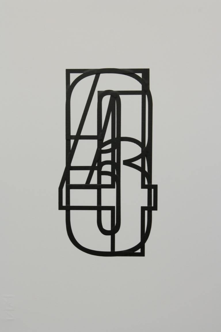 Vinyl on paper 2011 2
